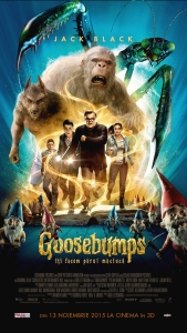 Goosebumps - digital poster