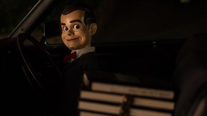 "Slappy in Columbia Pictures' ""Goosebumps,"" starring Jack Black."