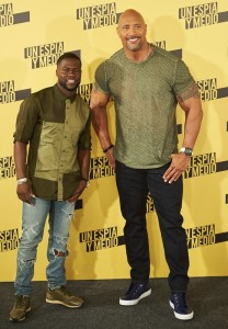'Central Intelligence' photocall at Villamagna Hotel in Madrid Featuring: Dwayne Johnson, Kevin Hart Where: Madrid, Spain When: 07 Jun 2016 Credit: Sean Thorton/WENN.com **Not available for publication in Spain, France**