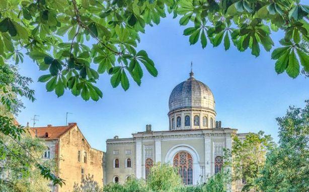 Sinagoga Sion (foto oradeainimagini.ro)
