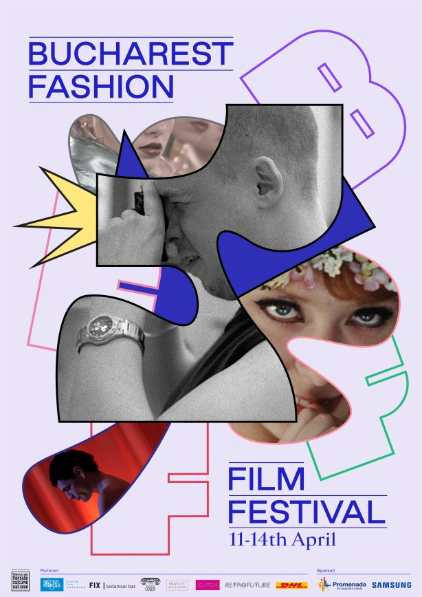 Bucharest Fashion Film Festival 2019 afis
