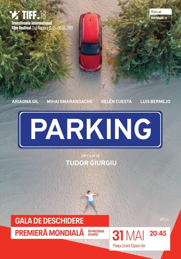 Afis Parking R. Tudor Giurgiu