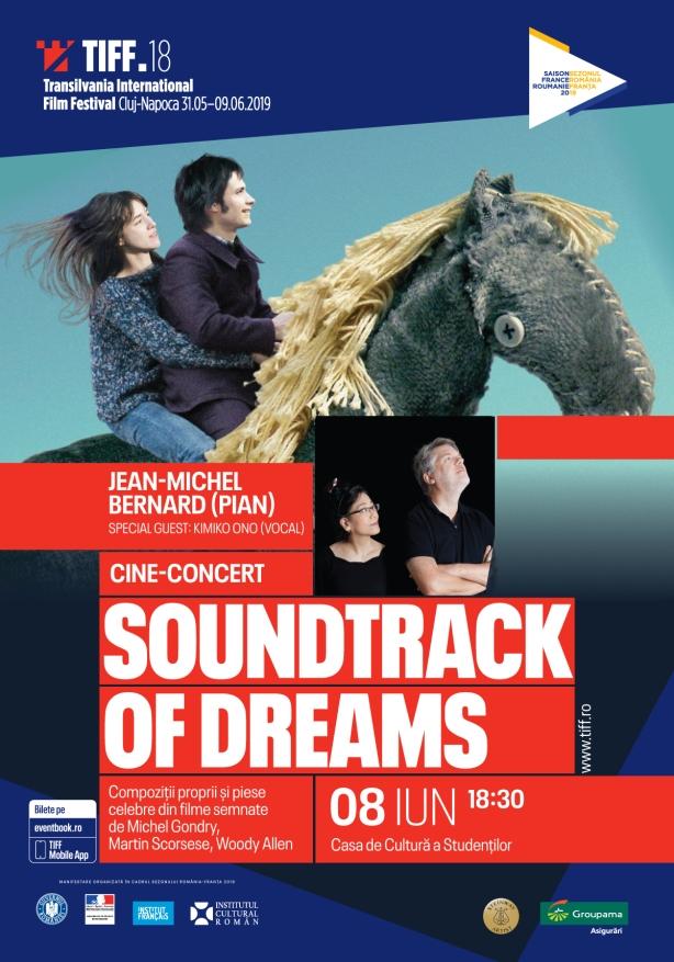 Poster Soundtrack of Dreams - Jean-Michel Bernard Tiff 2019
