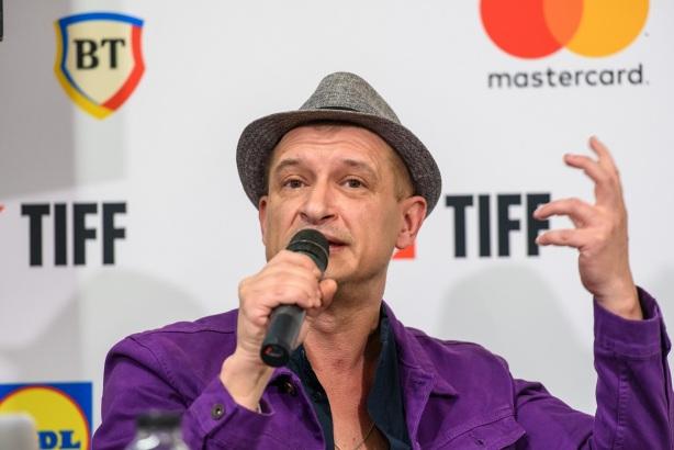 Mihai Chirilov la conferinta de presa TIFF 2019 - Foto Nicu Cherciu